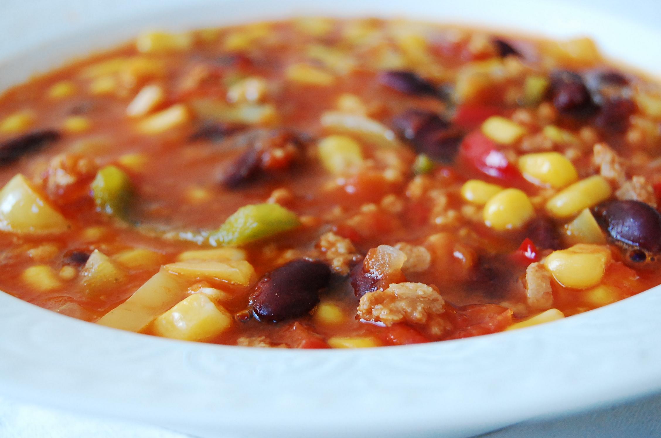Vegan Chili con Carne = Chili sin Carne   nade in the kitchen