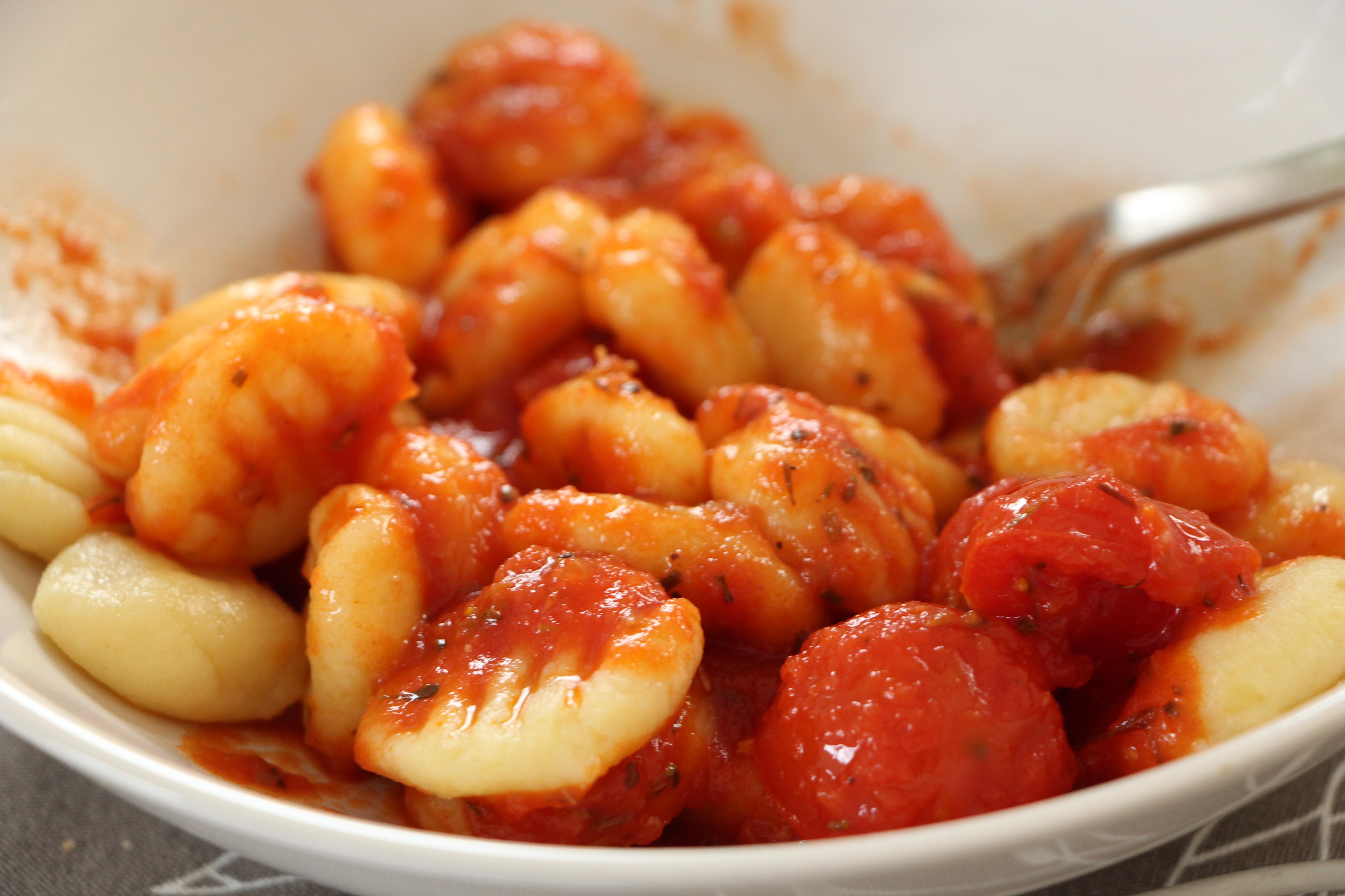 with quick meat sauce recipes dishmaps gnocchi with quick meat sauce ...