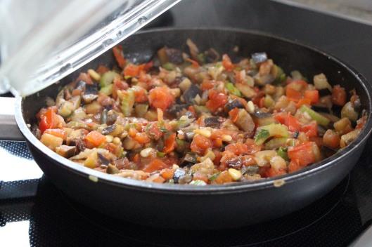 Tomato, Celere and Aubergines
