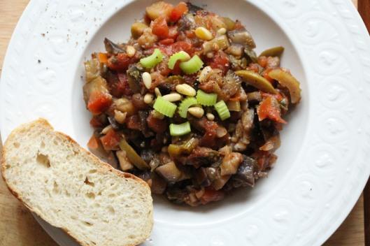 Sicilian Aubergine Stew