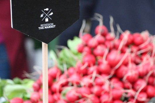 Redesign the market and radishes
