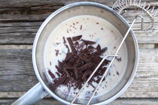 Making Vegan Shiny Chocolate Ganache
