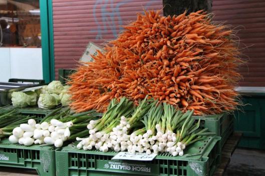 Carrots. Lots of carrots.