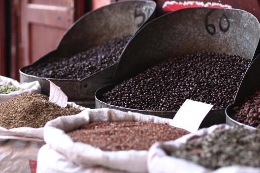 Coffee at Marrakech Souk