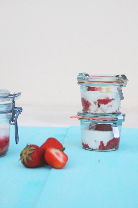 Vegan and gluten-free trifle