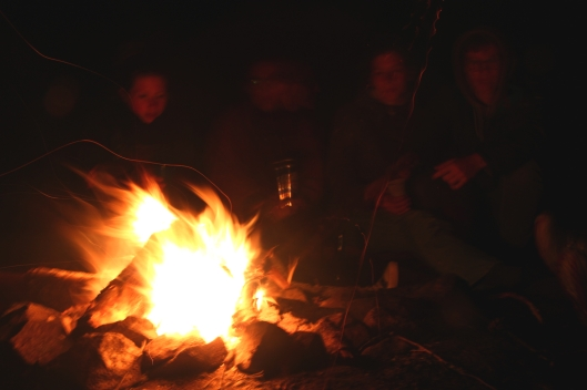 Campfire in Ösjönäs