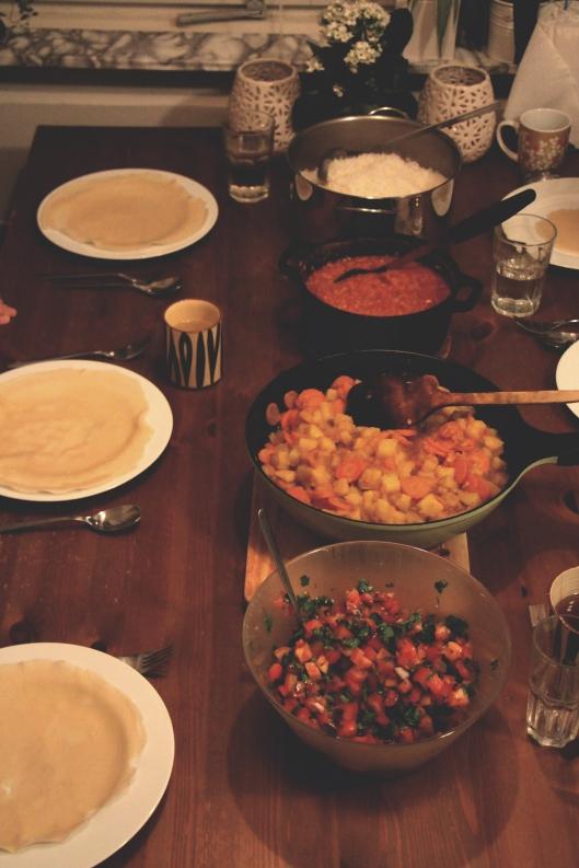 vegan ethipoian feast
