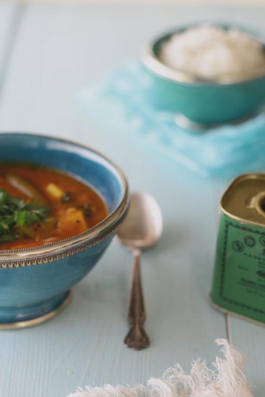 vegan jamie oliver inspired curry