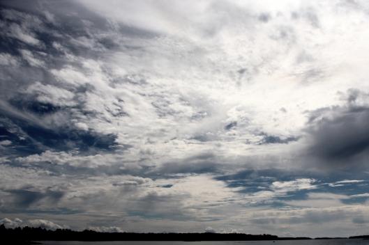 Sweden's sky
