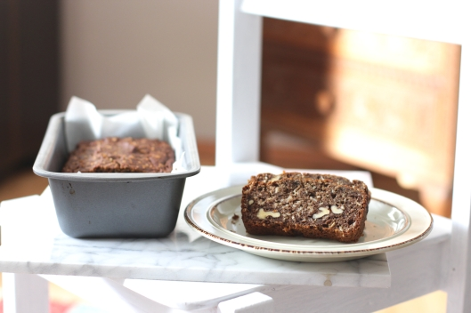 banana and zucchini bread sugar free