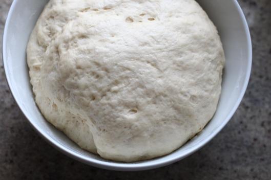 Yeast dough with fresh yeast