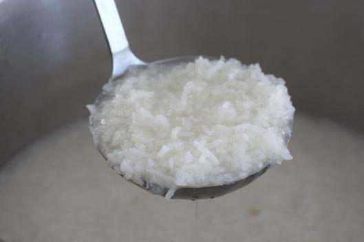 Soft rice for Sholeh Zard