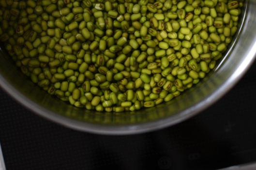 how to cook soaked mung beans